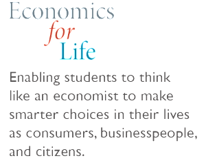 Economics for Life - enabling students