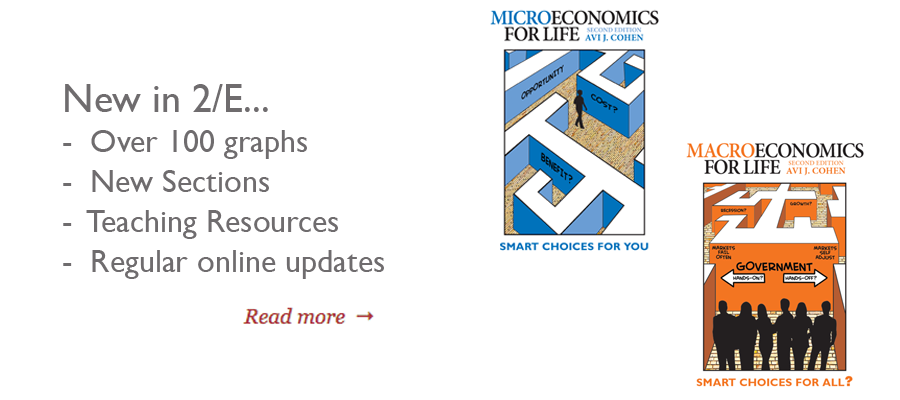 New in Economics for Life